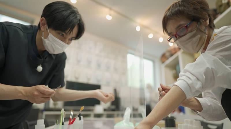 中島健人が大変身 特殊メイクのパイオニア・江川悦子を訪ねる WOWOW番組で