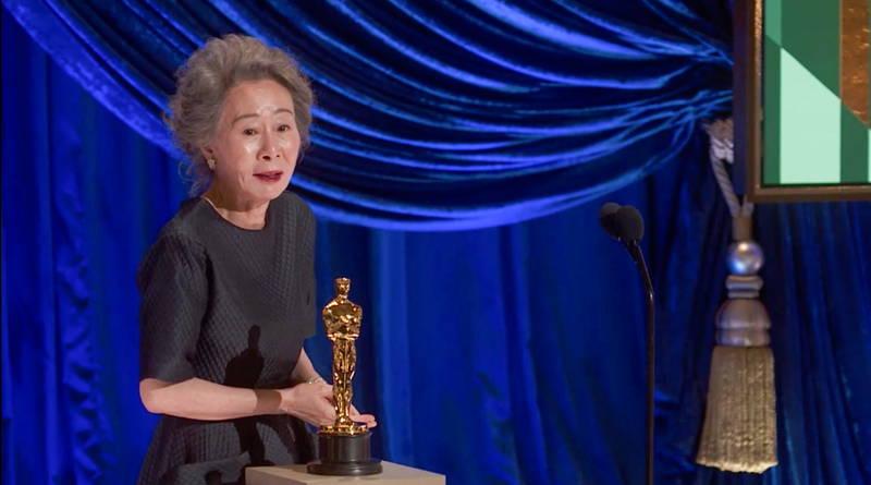 アカデミー賞助演女優賞にユン・ヨジョン 韓国人初 「ブラッド・ピットさん、お会いできて嬉しいです」