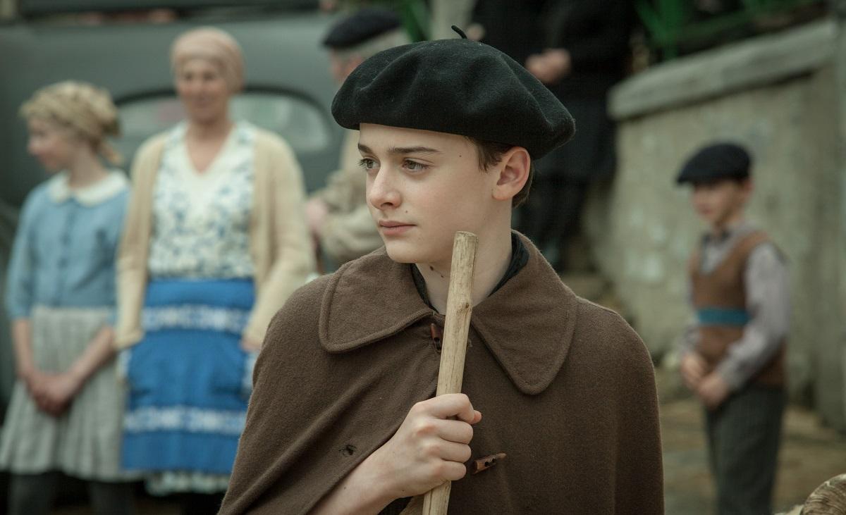 「アーニャは、きっと来る」ノア・シュナップ キュートさアップのベレー帽姿の写真公開