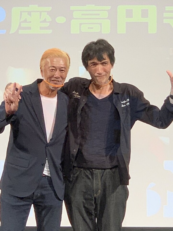 出演者がスタッフとなって来場者をおもてなし 神威杏次監督「スモーキー・アンド・ビター」プレミア上映