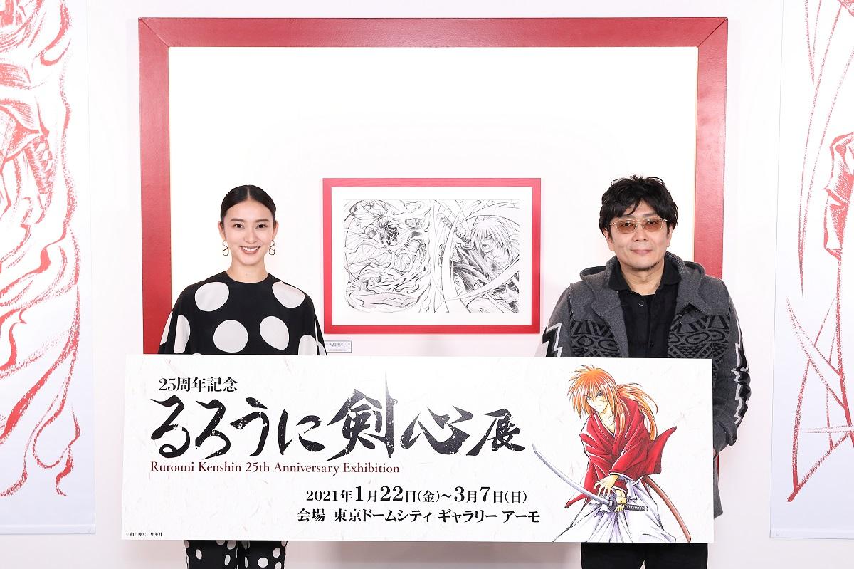 武井咲「昔の私では無理だった」 映画「るろうに剣心 最終章」で神谷薫役